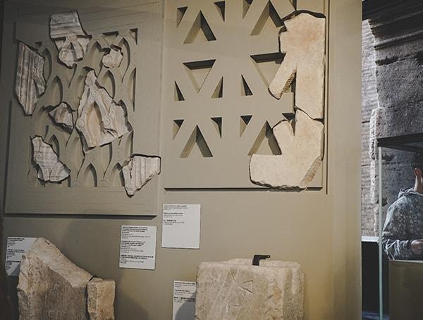Stone Pattern Architecture Details Colosseum