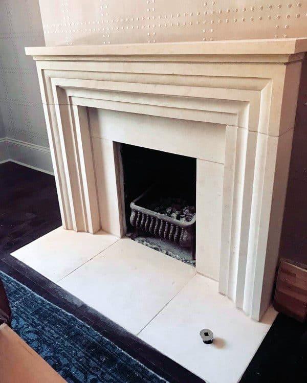 Stone Rock Fireplace Designs