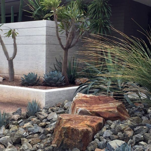 Stone Rocks Desert Landscaping Ideas