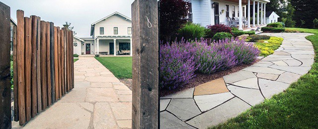 Top 60 Best Stone Walkway Ideas – Hardscape Path Designs