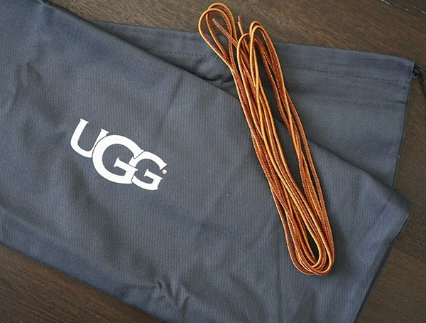 Storage Bag With Spare Laces Ugg Avalanche Butte Boot