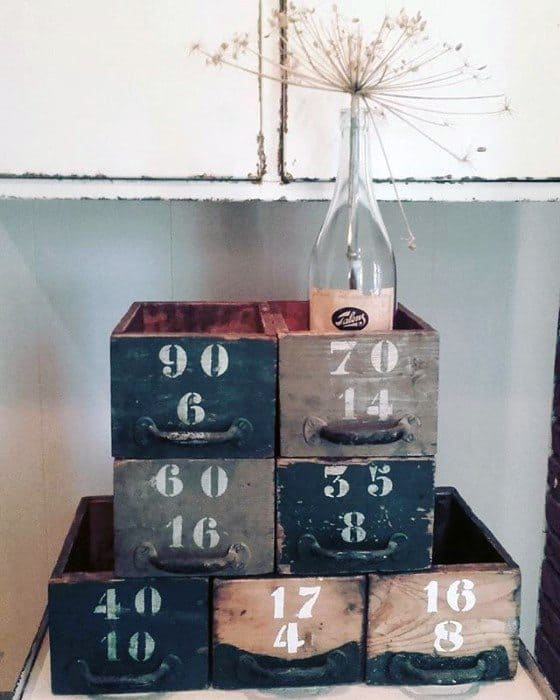 Storage Bins Vintage Diy Man Cave Ideas