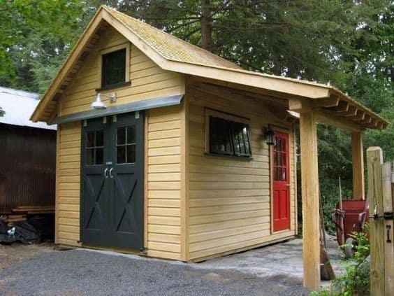 Storage Design Ideas For Backyard Shed