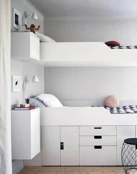 Storage Ideas For Bunk Beds