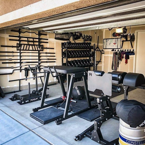 Garage gym equipment ideas dandk organizer