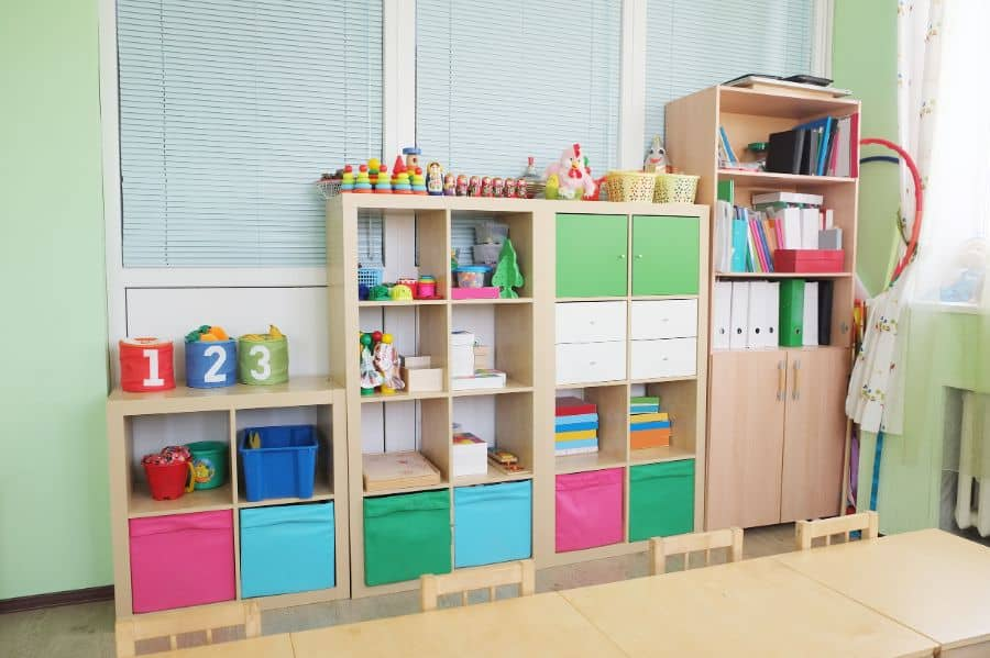 Storage Playroom Ideas 13
