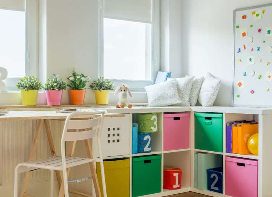 Storage Playroom Ideas 6