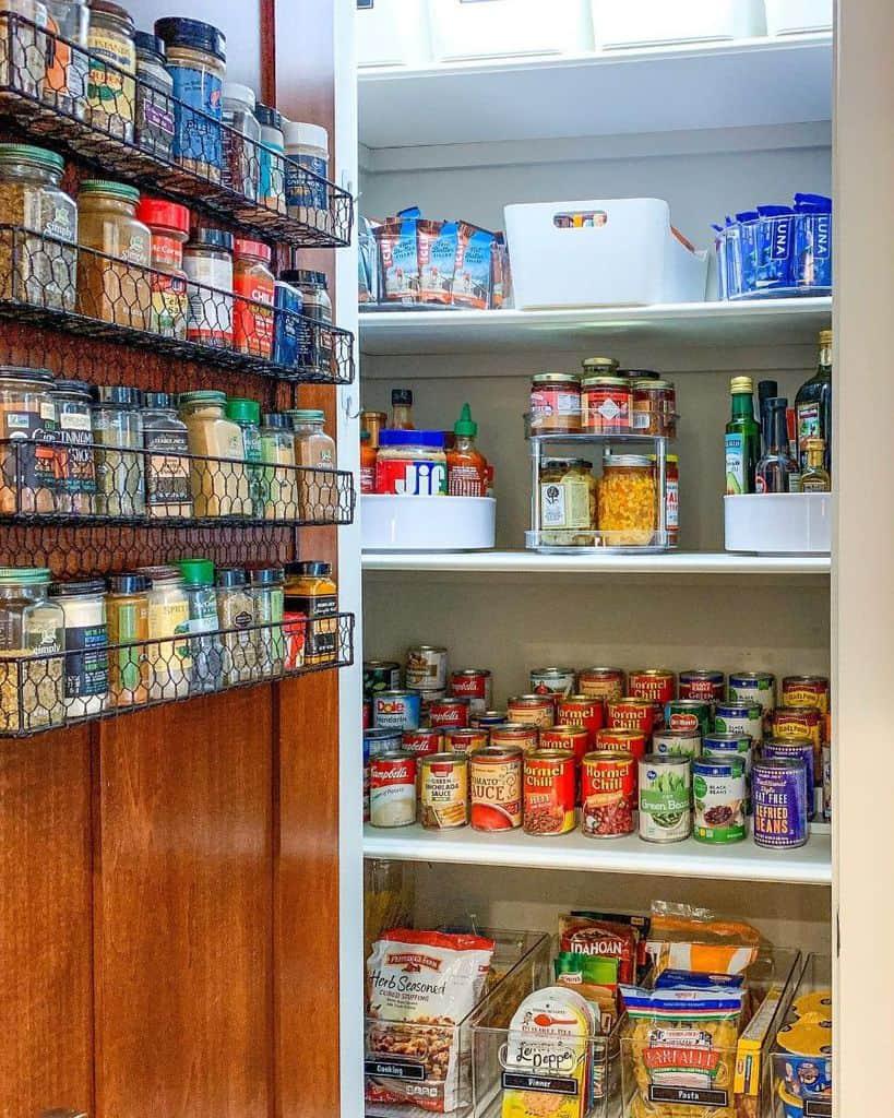 Storage Solution Spacesavers Caddie Pantry Shelving