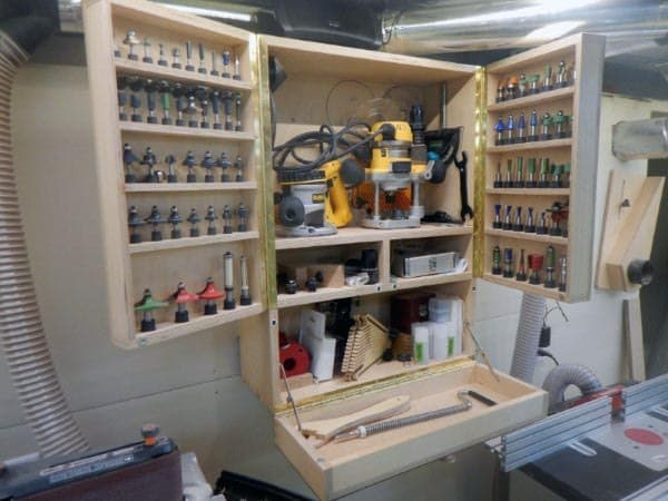 Storage Tool Organization Ideas