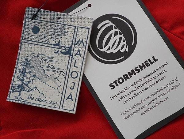 Stormshell Maloja Tinusm Mens Pants