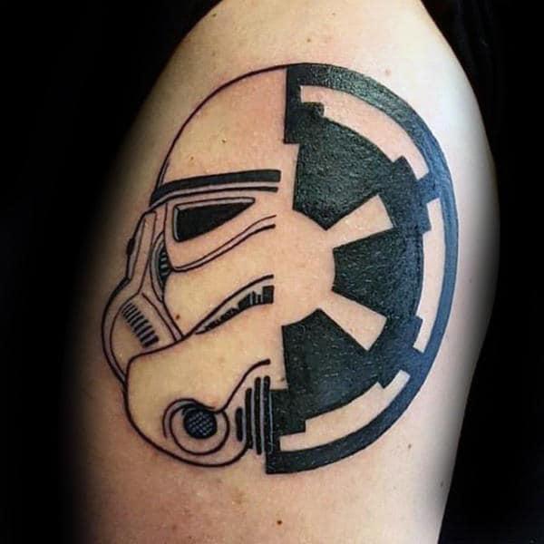 100 Stormtrooper Tattoo Designs For Men Star Wars Ink Ideas