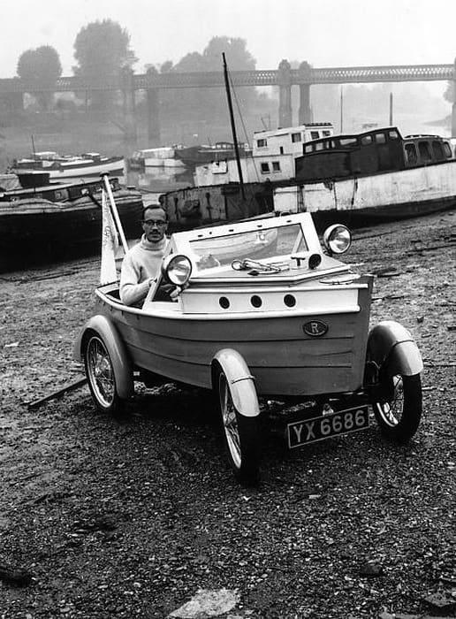 Strange Boat Car