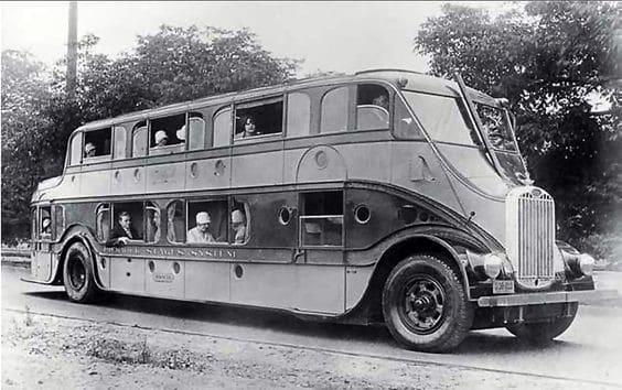 Strange Bus Design