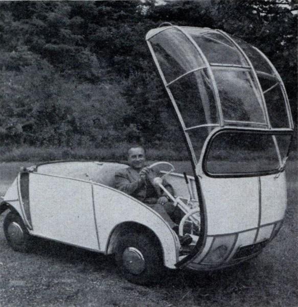 Strange Car Window