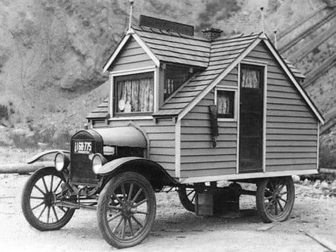 Strange Car With House Themed Design