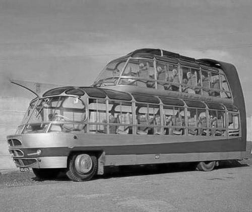 Strange Double Decker Bus Design