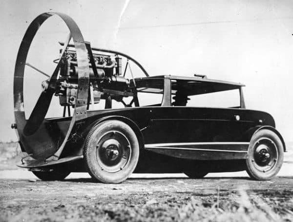 Strange Fan Powered Cars