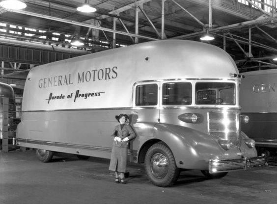 Strange General Motors Truck Bus