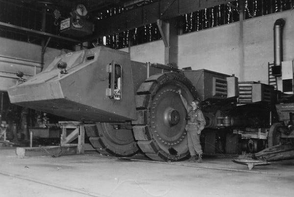 Strange Giant Military Vehicles