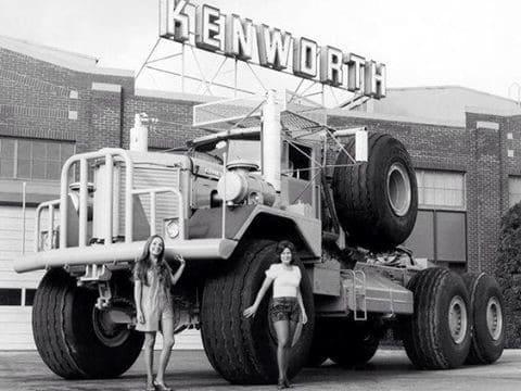 Strange Heavy Duty Work Trucks