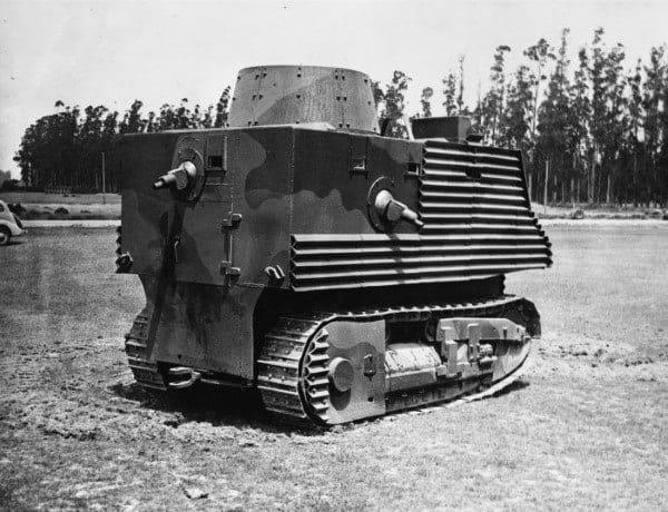 Strange Military Tank Automobile