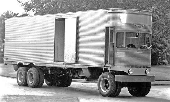 Strange Semi Truck