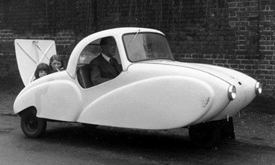 Strange Small Coupe Cars