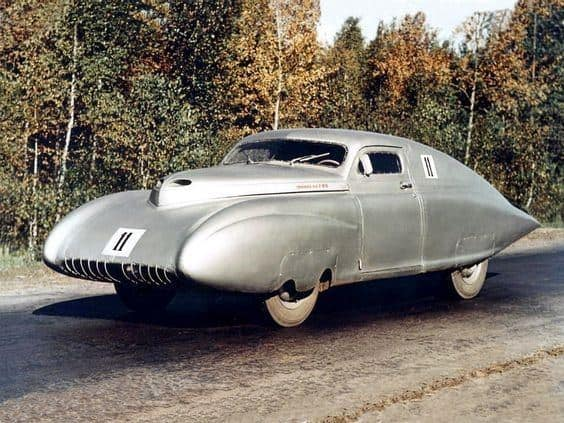Strange Sports Car Coupe
