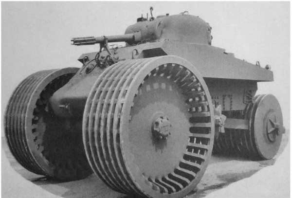 Strange Tank Vehicles