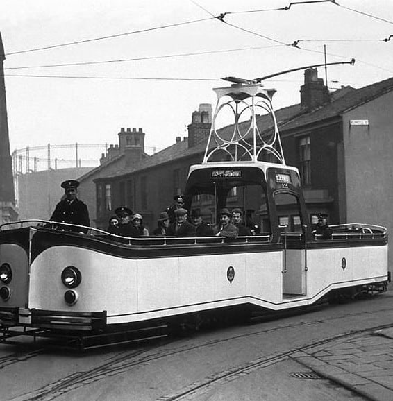 Strange Trolly Vehicles