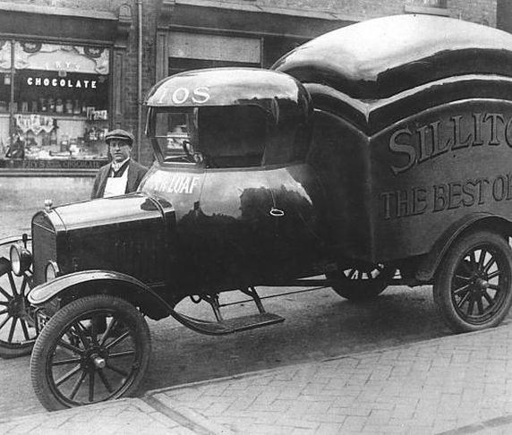 Strange Vintage Delivery Cars