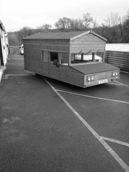 Strange Volkswagen Cabin Themed Car