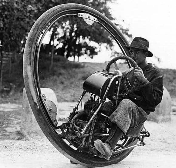 Strange Wheel Car