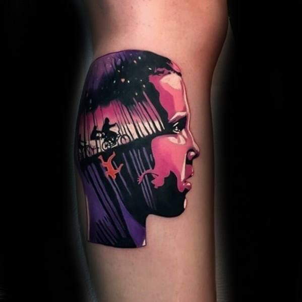 Stranger Things Guys Tattoos