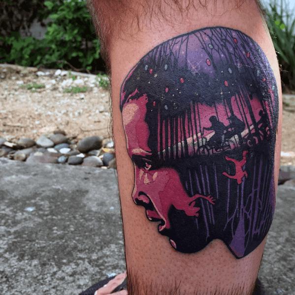 Stranger Things Tattoo Ideas On Guys