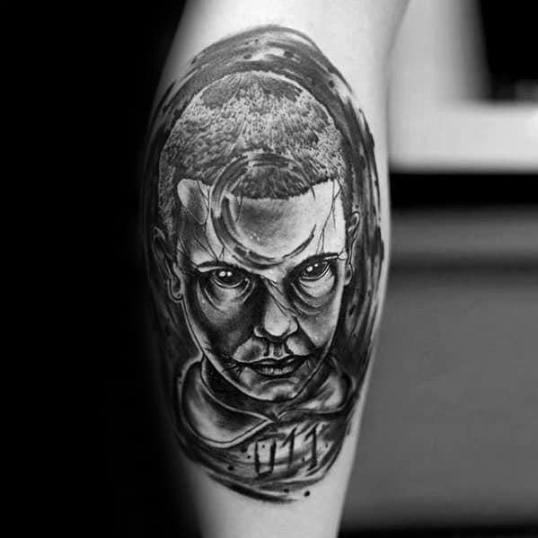 Stranger Things Tattoos For Gentlemen