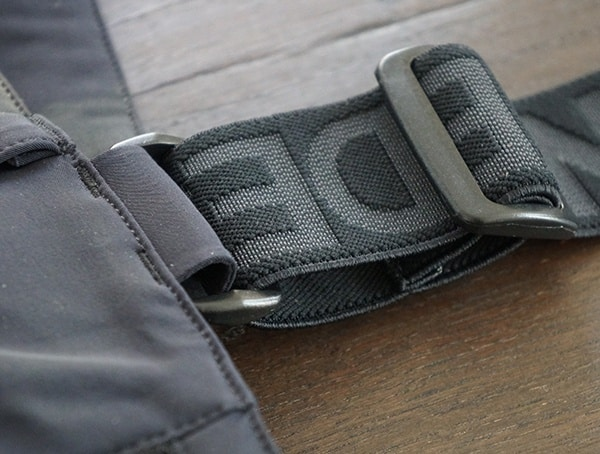 Strap Detail Descente Swiss Ski Team Pants For Men