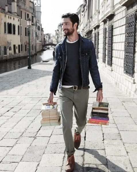 Street Style Casual Wear Styles For Gentlemen