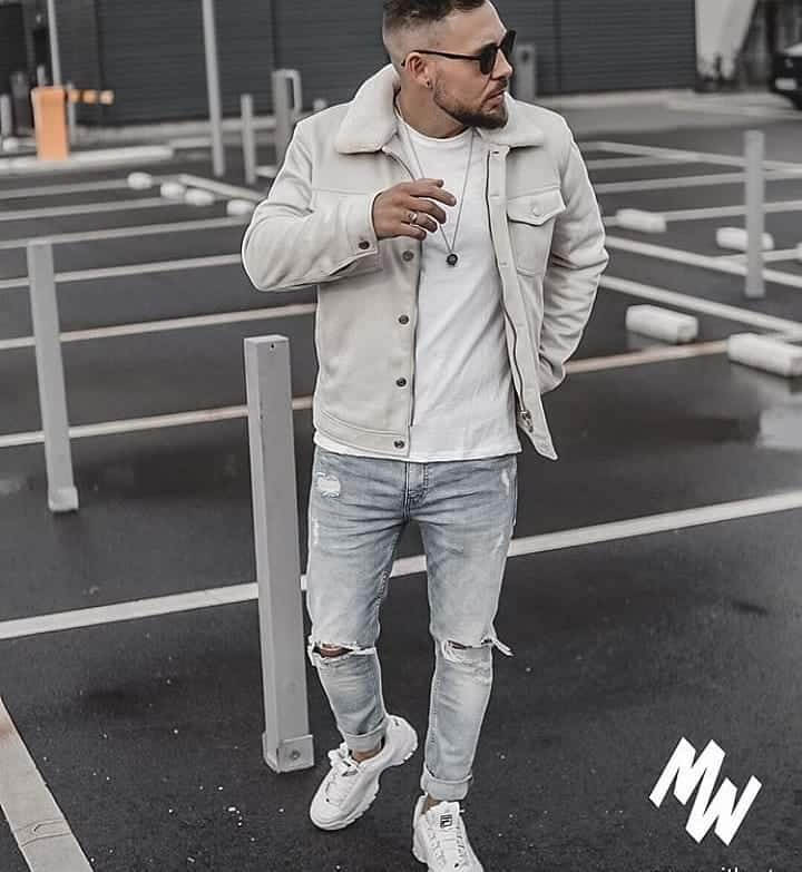 Street Wear Neutral Outfit