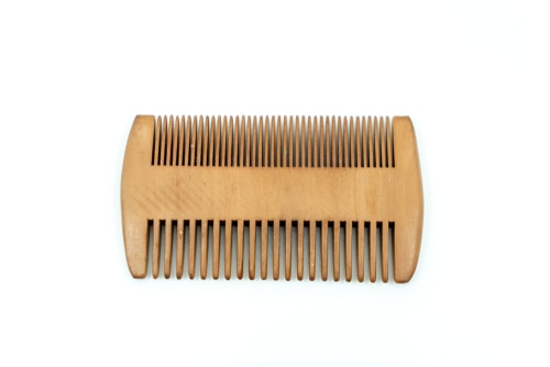 Striking Viking Wooden Beard Comb For Men