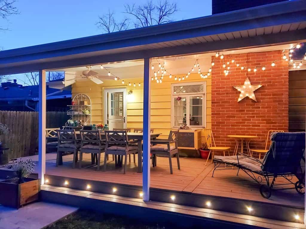 string lights patio lighting ideas mrspyrex
