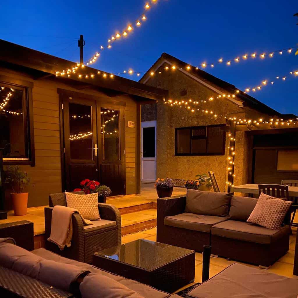 string lights patio lighting ideas myhomestyle31