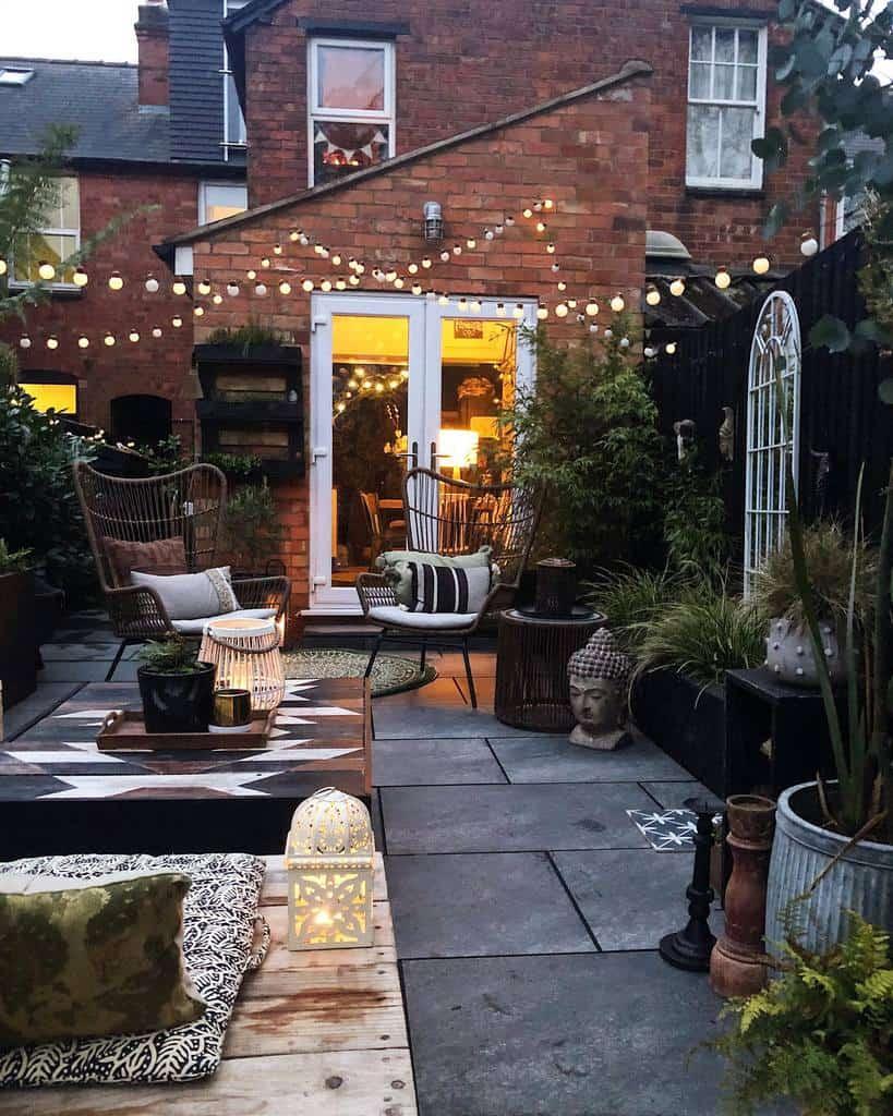 string lights patio lighting ideas theresa_gromski