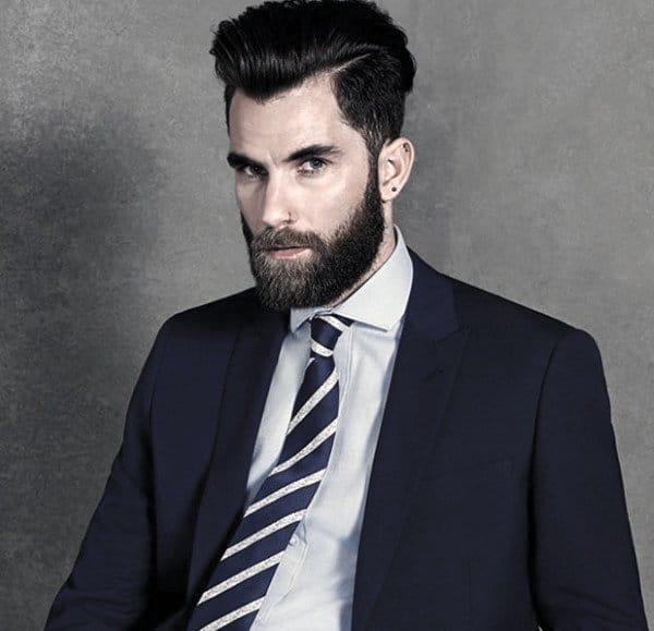 Striped Tie Guys Fashion Ideas Navy Blue Suit Styles