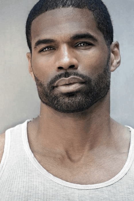 Stubble With Short Hair Beard Styles For Black Men