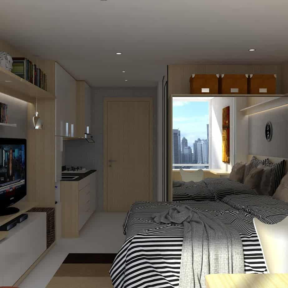 studio apartment bedroom ideas muhammadraydan