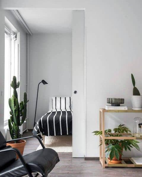 Studio Apartments With Plant Decor Ideas