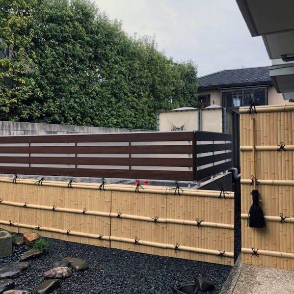 Stunning Backyard Bamboo Fence Designs