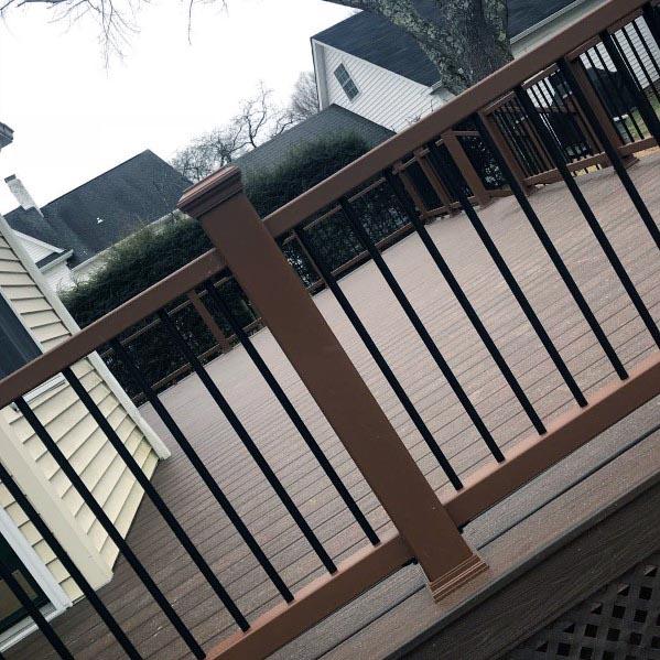 Stunning Backyard Deck Railing Designs