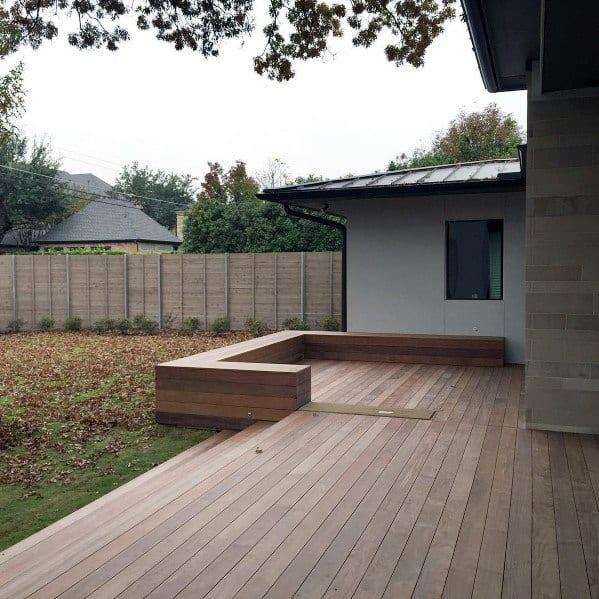 Stunning Backyard Floating Deck Designs